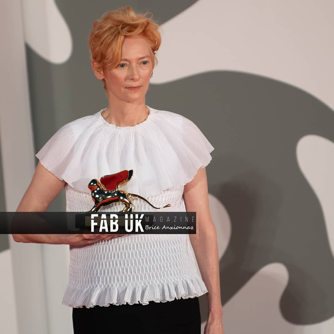 Tilda swinton at the opening ceremony of venice film festival (4)
