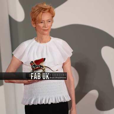 Tilda swinton at the opening ceremony of venice film festival (4)