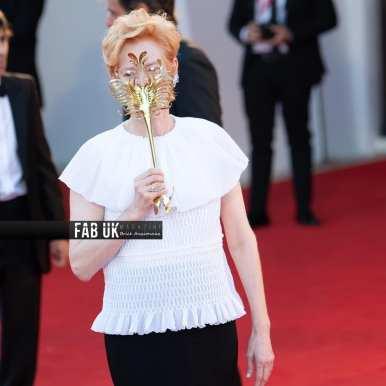 Tilda swinton at the opening ceremony of venice film festival (5)