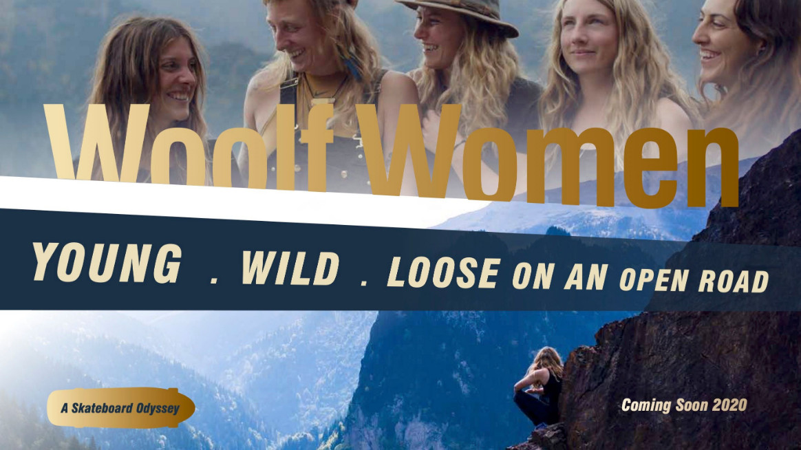 High octane skateboarding documentary 'woolf women' debuts at raindance film festival