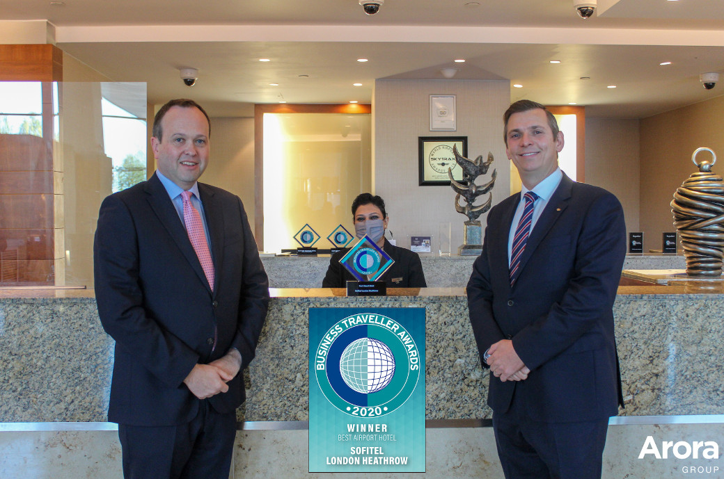 Sofitel london heathrow awarded best airport hotel