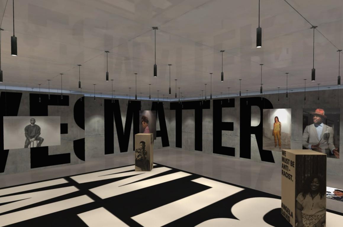 Black lives matter showroom