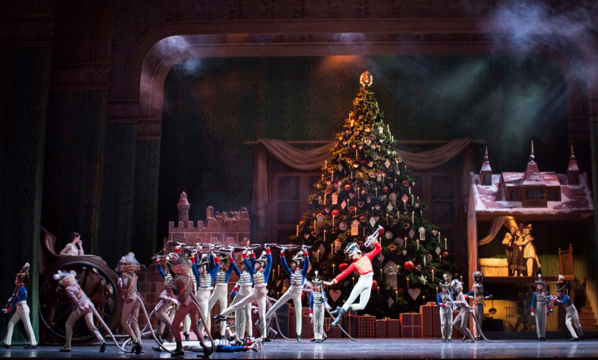 Artists of the royal ballet in the nutcracker, the royal ballet. (c) 2016 roh. photographed by helen maybanks