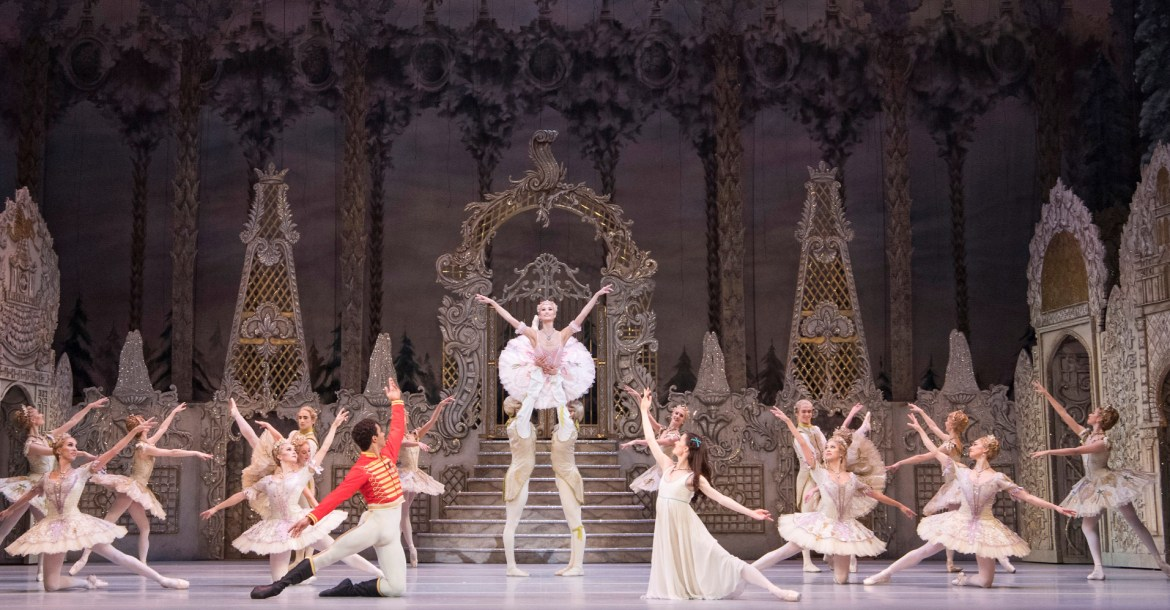 Artists of the royal ballet in the nutcracker, the royal ballet. (c) 2018 roh. photographed by alastair muir