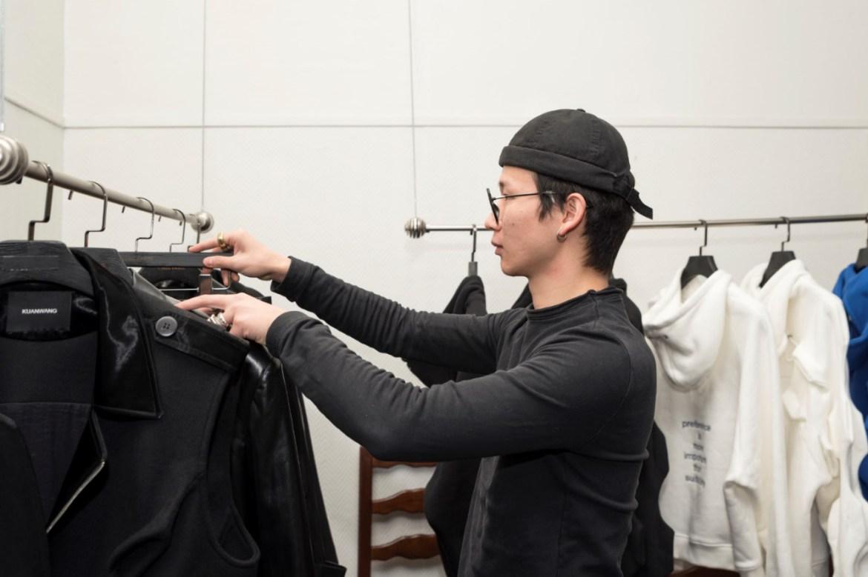 Kuanwang during paris menswear fashion week 2021 fw2122 collection (4)
