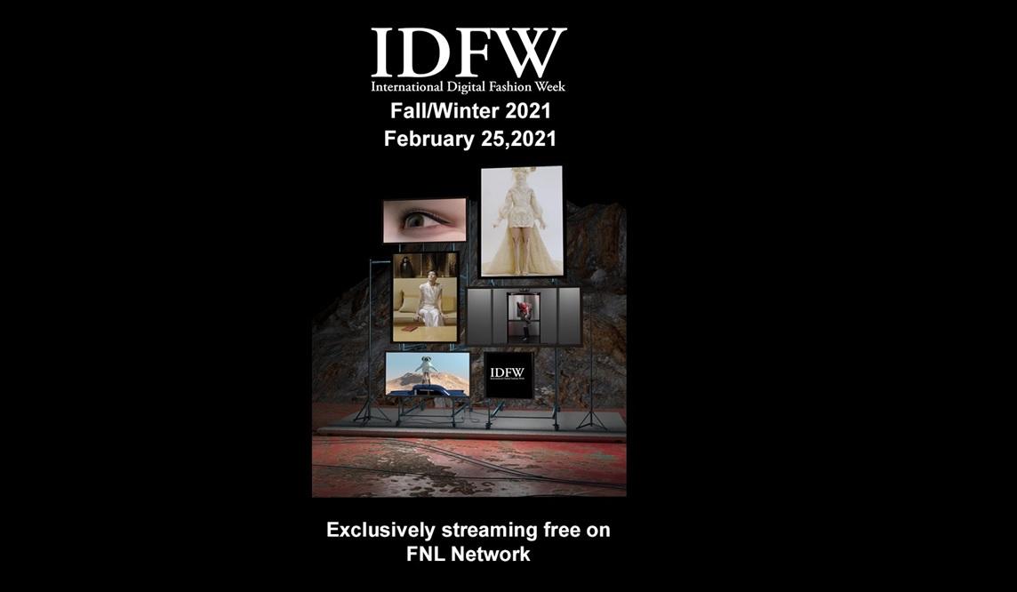International digital fashion week (idfw) fw 2021.