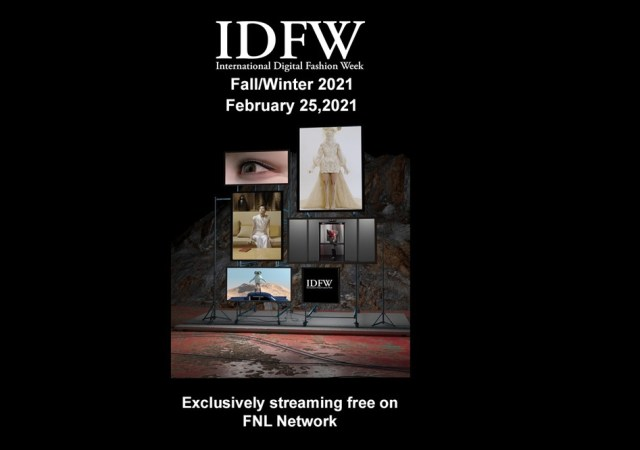 International digital fashion week (idfw) fw 2021.