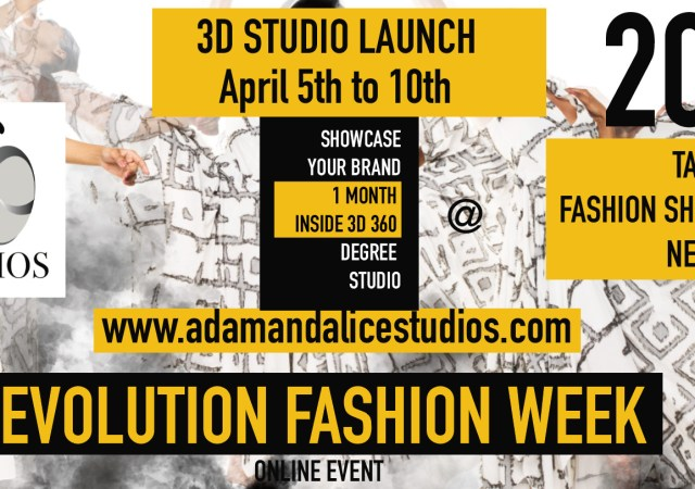 Fashion show by adam and alice studios