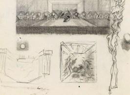 Fabuk art salvador dali study for the sacrament of the last supper 1954 1955