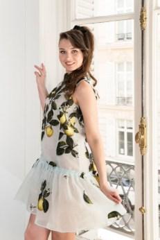 Oscar de la renta paris fashion week