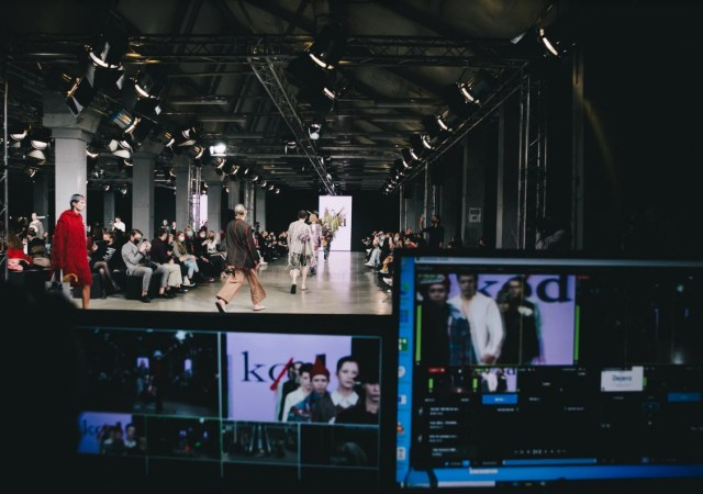 Mercedes benz fashion week russia is taking place in the museum of moscow