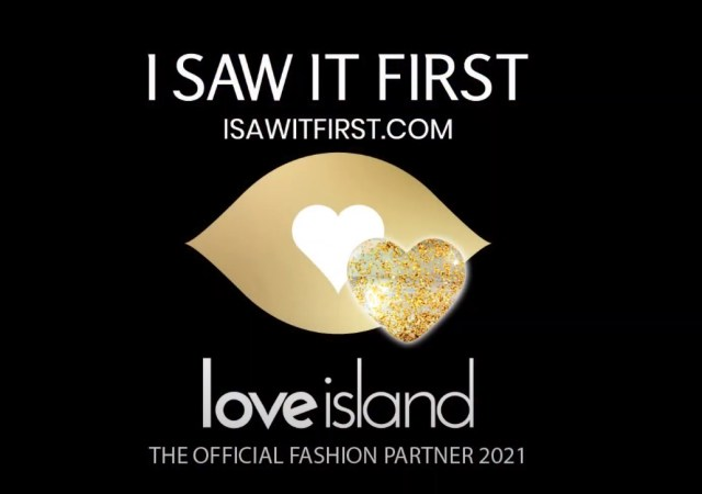 Isawitfirst announce official fashion partnership with itv's love island!