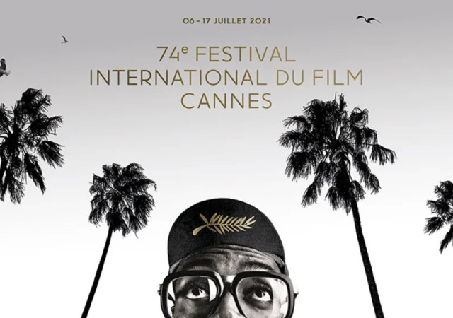 The poster of the 74th festival de cannes
