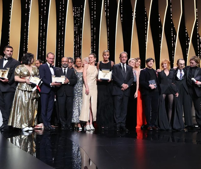 Jury and award winners – closing ceremony 2021 image credit valery hache afp