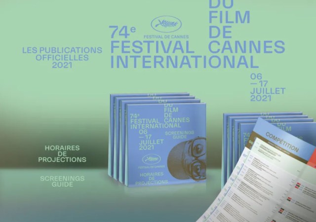 The screenings guide for cannes film festival 2021