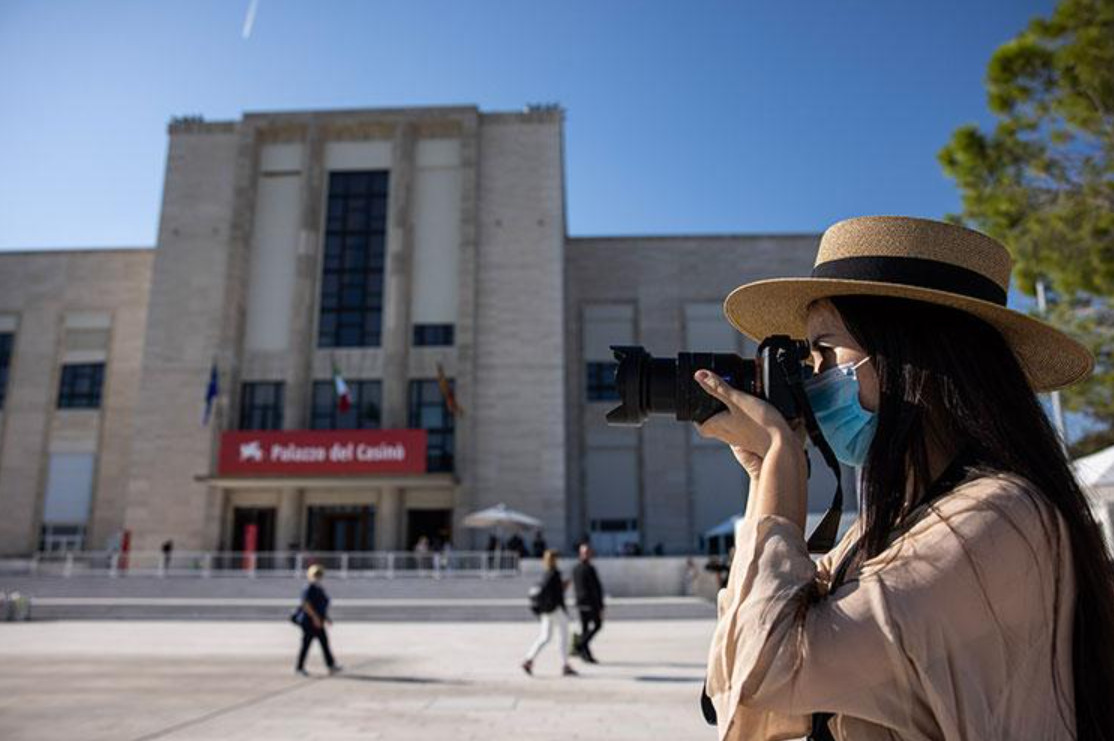 Anti covid 19 measures green pass at the 78th venice film festival