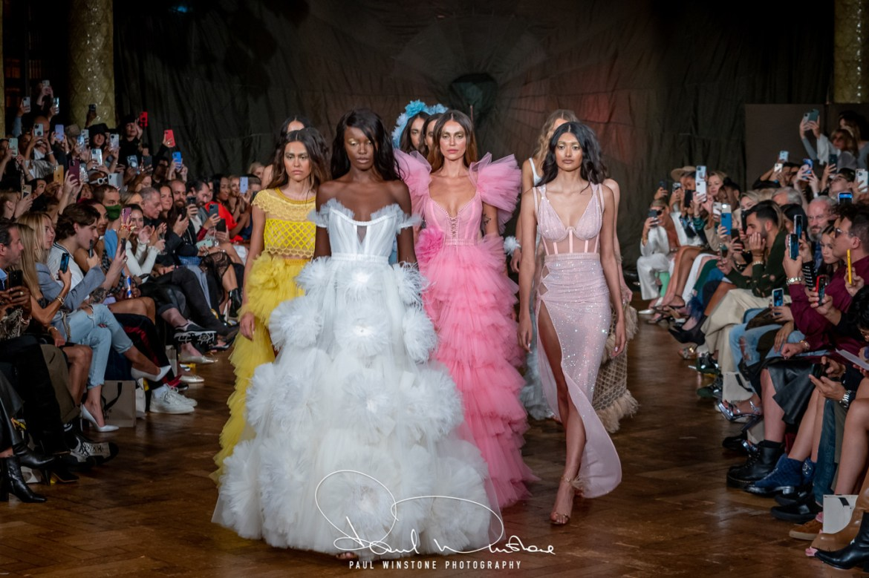 Aadnevik ss21 during london fashion week 2021