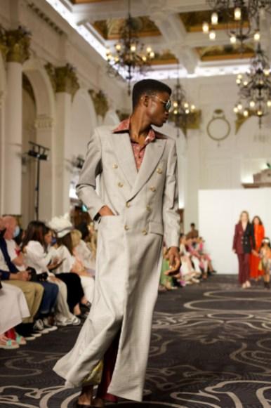 Helen anthony spring summer 2022 during london fashion week (8)