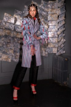Karina bondareva springsummer 2021 during london fashion week (5)