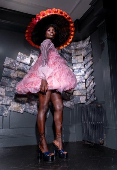 Karina bondareva springsummer 2021 during london fashion week (8)