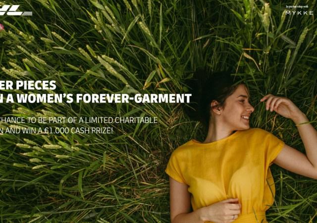 Design a women's forever favorite garment with mykke hofmann x dhl