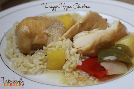 recipe pineapple pepper chicken