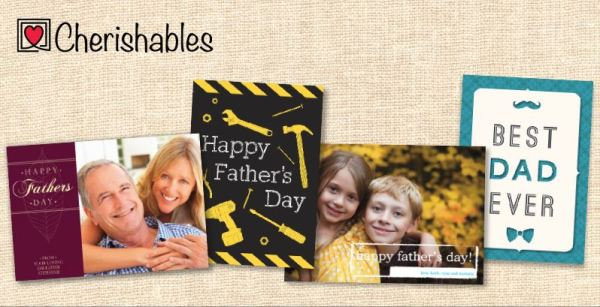 Custom Photo Father's Day Card for FREE