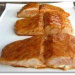 honey lime glazed salmon