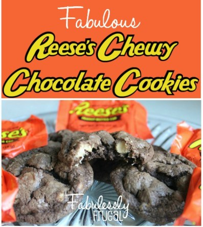 reeses chocolate cookies