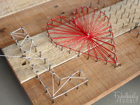 Make It String Art Tutorial On Nail Projects