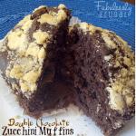 Double Chocolate Chip Zucchini Muffins Recipe Photo