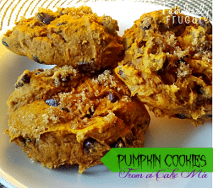Pumpkin Cookies from a Cake Mix Photo