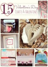 valentine's day crafts and valentines