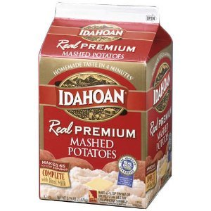 idahoan mashes potatoes