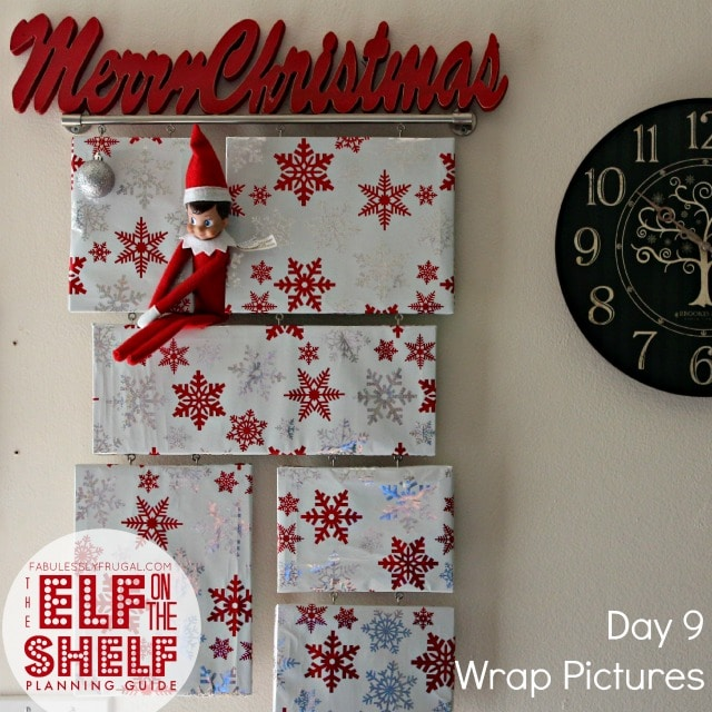 25 Days of easy Elf on the Shelf Ideas: Day 9
