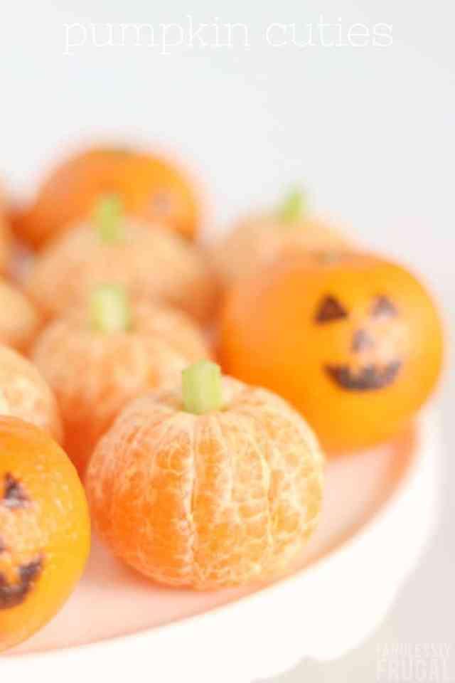 Halloween cuties oranges