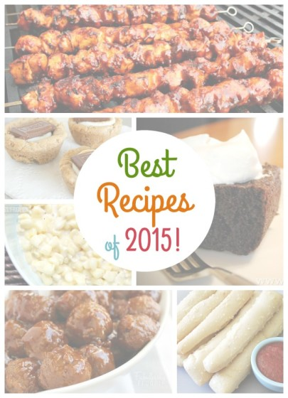 our best recipes of 2015