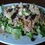 taco rice salad: diy freezer meals