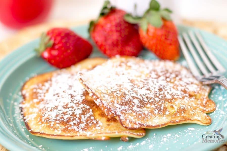 Apple Fritter Pancake Recipe