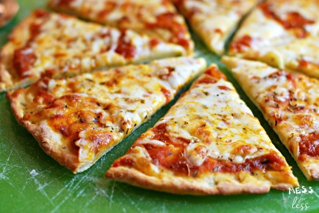 Two Ingredient Pizza Dough Recipe