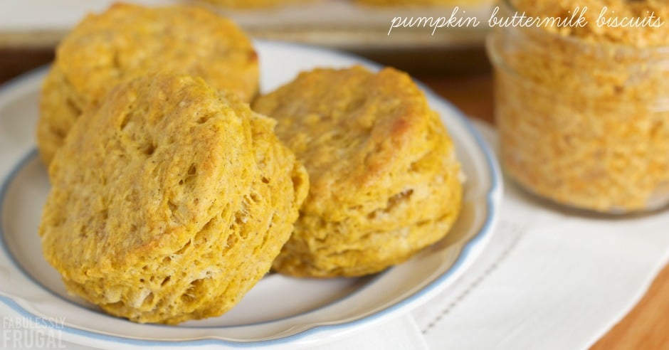 Pumpkin biscuits on a plate