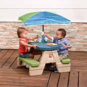 Amazon: Step2 Sit and Play Kids Picnic Table With Umbrella $34.38 (Reg....