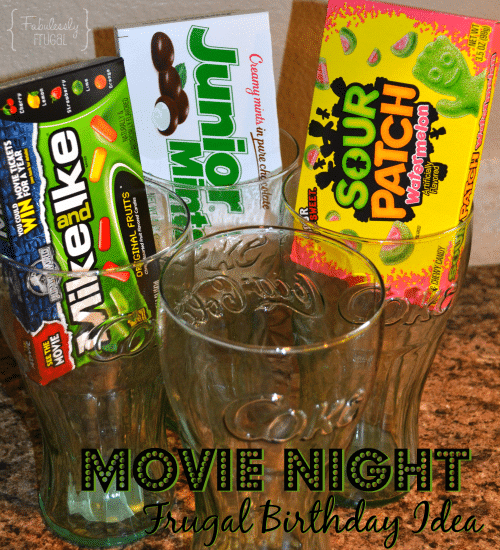 Movie Night Birthday Idea