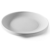 Amazon: Set of 4 White Everyday Plates 10