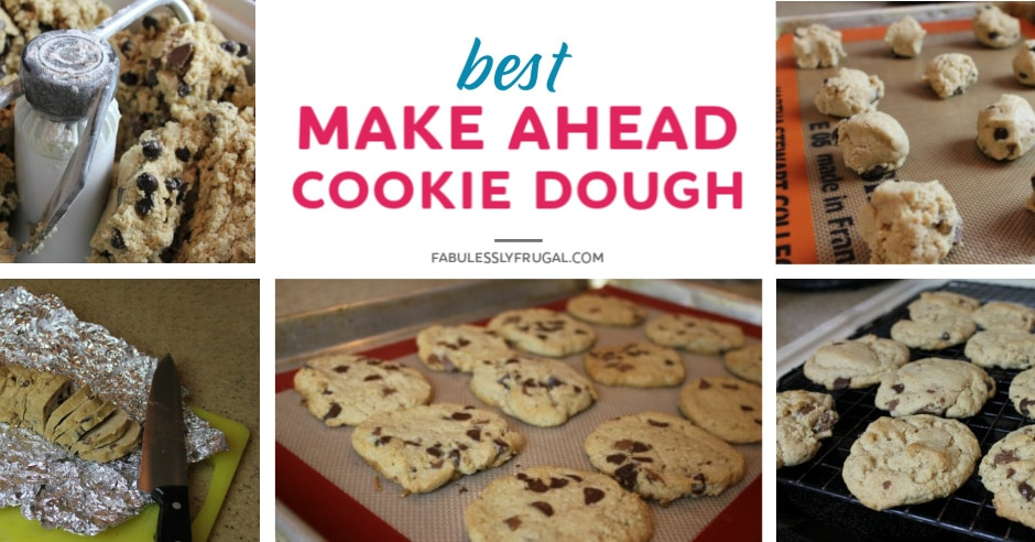 Best make ahead cookie dough recipe