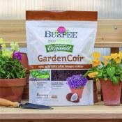 Amazon: Burpee Garden Coir, 8 Quart, Organic $3.94 (Reg. $11.99)