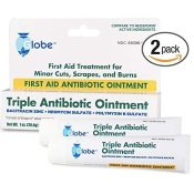 Amazon: 2-Pack Triple Antibiotic First Aid Ointment, 1 oz. $6.99 (Reg....