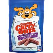 Amazon: Canine Carry Outs Sausage Links Beef Flavor Dog Snacks as low as...