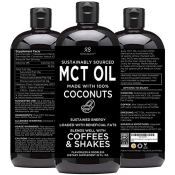 Amazon: Premium MCT Oil, 32-oz Made only from Coconuts $21.95 (Reg. $49.95)