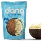 Amazon: Bag of Dang Gluten Free Toasted Coconut Chips, Unsweetened, 3.17...
